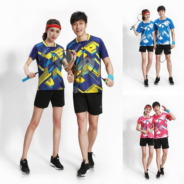 New VICTOR badminton sportswear suit clothes dry suit,men/women tennis jerseys sport shorts,ping pong/table tennis t-shirt and shorts sets