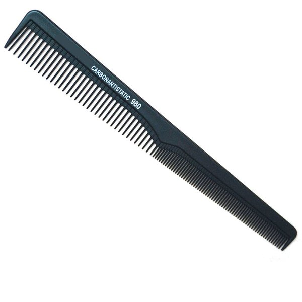 Wholesale- Hairdressing Heat Resistant Cricket Carbon Comb Antistatic Cutting Comb L980