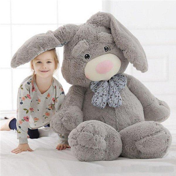 Гигантская поп аниме кролика плюшевая кукла большая мягкая мягкая игрушка с длин