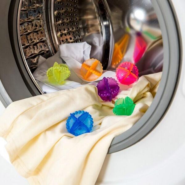 Acheter Nouvelle Pratique Doux Lave Linge Sèche Linge Boule De Nettoyage Cristal Balles De Blanchisserie Maison Nettoyage Balle Outils Livraison