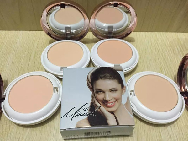 hot selling new makeup brand matte face Powder Double-deck have 4 color can choose dhl free shipping +gift