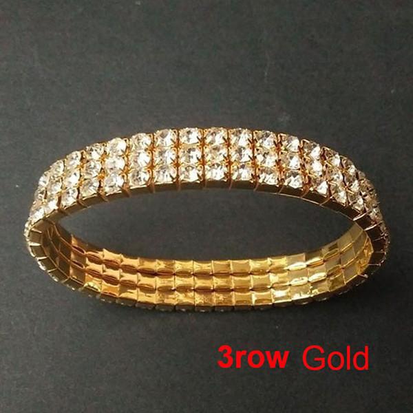 3 row gold