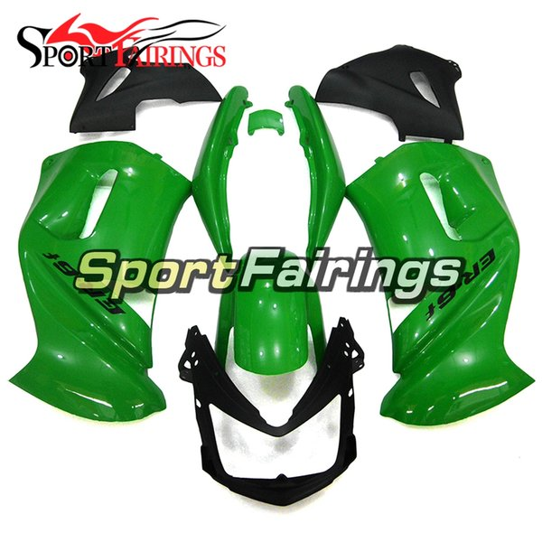 Full Fairings For Kawasaki ER-6f Ninja 650 06 07 08 ER6f 2006-2008 ABS Plastic Motorcycle Fairing Kit Body Frames Cowlings gloss Green black