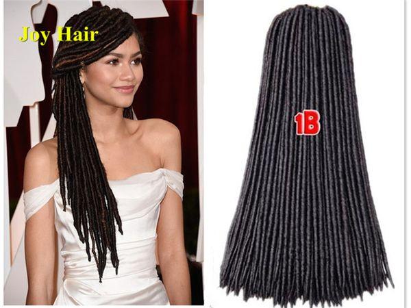 best selling Havana Mambo Faux Locs Braids 24 Strands Crochet Dreadlock Braids Hair Extensions Softex Spiral Hollow Crochet Twist synthetic Braid hair