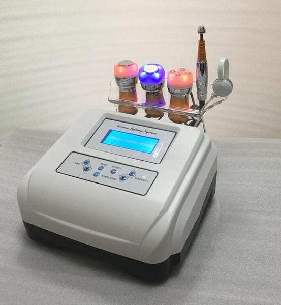 Sistema di sollevamento Derma con mesoterapia senza aghi Dispositivo per la cura della pelle del viso