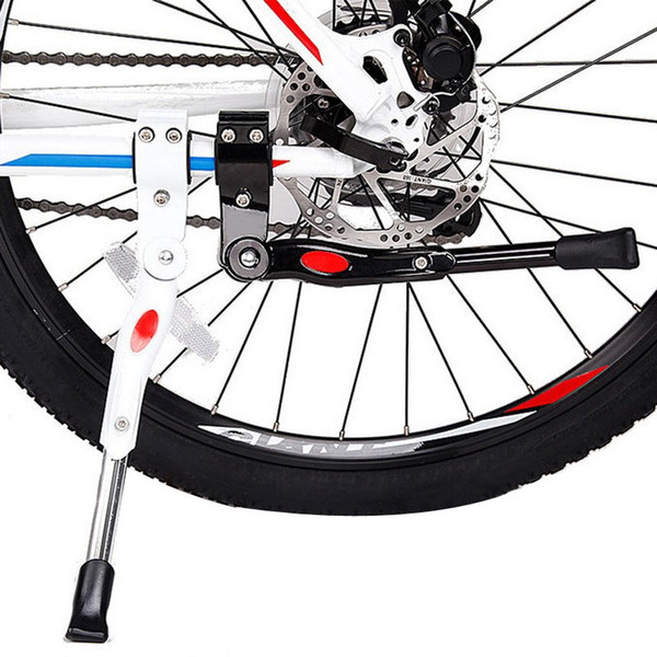Cavalletto laterale regolabile Kick Stand Kit per mountain bike di alta qualità MTB Road Mountain Bicycle Cycling Spedizione gratuita