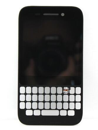 For Blackberry Q5 LCD Screen Panels Display Touch Screen Digitizer Assembly Bezel Frame Black White Free DHL Shipping
