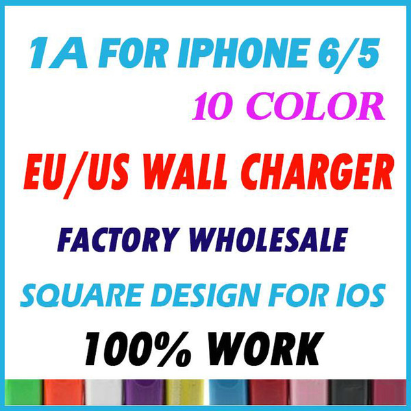 top popular Wholesale 1000pcs lot 1000mAh 1A US EU Plug USB AC Wall Charger Travel Power Adapter for mobile phone 2020