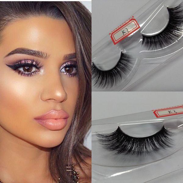 Soft 10 Pairs premium 100% real siberian strip eyelashes 3D Silk lashes miami lashes