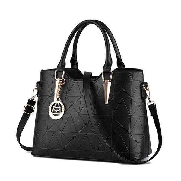 High Quality PU Leather Female Bag Metal Sheets Decoration Handbags Sweet Ladies Elegant Hot Sale Women Shoulder Bags Bolsa Feminia HL014