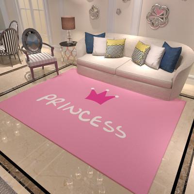 Acheter Polyester Rose Princesse Tapis Mats Couronne Simple Chambre Fille  Porche Personnalisé Tapis Tapis Filles Salon Tapis Belle De $22.02 Du ...