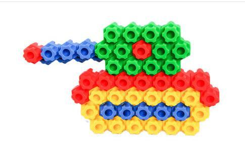 wholesale 68pcs Bullet Building Blocks toys early education puzzle Education ToysKindergarten games teaching utensils children gifts