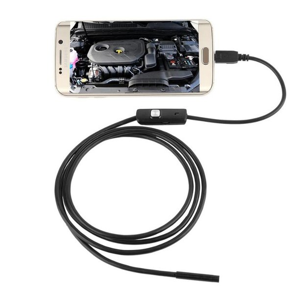 best selling USB Endoscope Inspection Camera Android Phone Borescope 7mm USB Snake Pipe Inspection Camera Micro USB Endoscope Camera