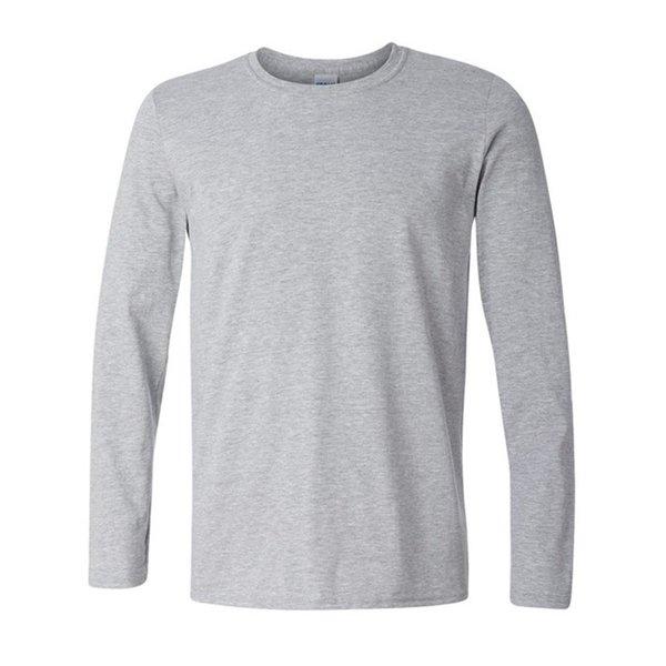 wholesale plus size xs xxl classic men t shirt long sleeve o neck