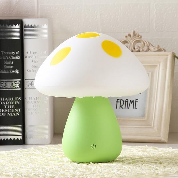 Acheter Lampe De Table Ambiance Champignon Variable Multicolore Romantique Touche Dimmable Humeur Chevet Veilleuse Pour Enfants Bureau Champignon Usb