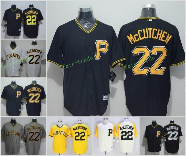 best website ba64f 3bc91 pittsburgh pirates 22 andrew mccutchen white pullover cool ...