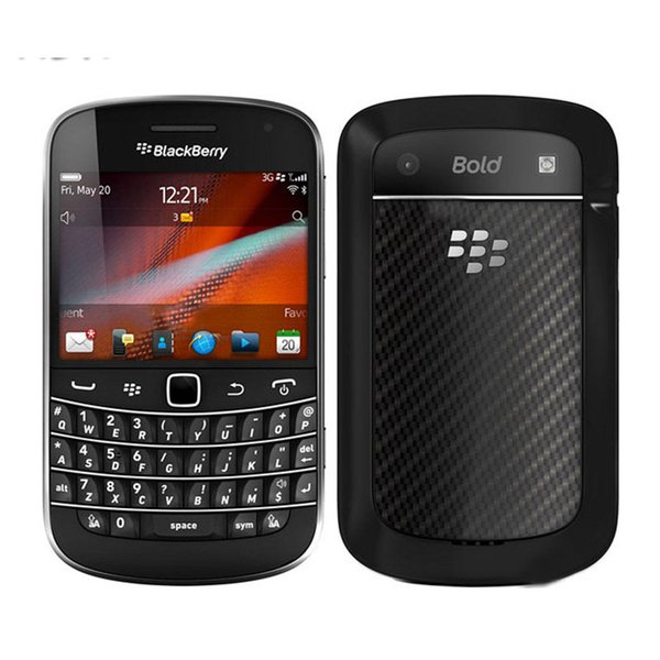 Refurbi hed blackberry bold touch 9900 mobile phone  2 8inch 8g rom qwerty keyboard wifi gp  5 0mp camera