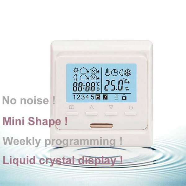 Freeshipping Electric Floor Heating System Room LCD Screen Thermostat Warm Floor Heating System Thermoregulator 220V Temperature Controller