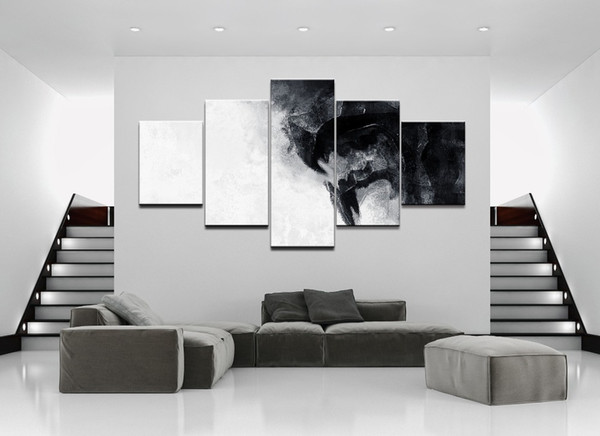 """LARGE 60""""x32"""" 5Panels Art Canvas Print Game of Thrones Posters TV Poster Wall Home Decor interior (No Frame)"""