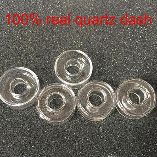 Replacement Quartz Dish For Hybrid Titanium Outer Diameter 25mm or 22mm For Titanium Quartz Nails Oil Rigs Bongs