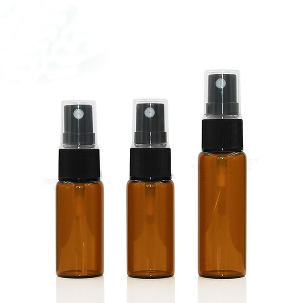 Alta calidad 5 ml 10 ml 15 ml 20 ml de vidrio Mini botella de spray portátil Botellas de vidrio de perfume vacío perfume recargable atomizador envío gratis DHL