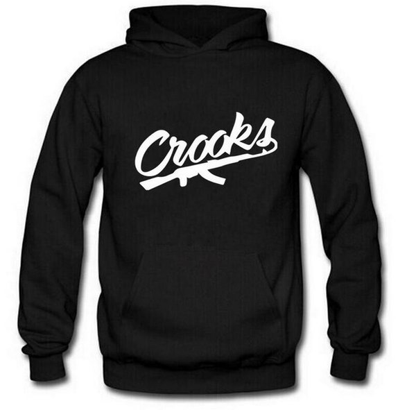 Crooks and Castles hoodies diamond Hoodie free shipping hip hop sweatshirts winter suit cotton sweats mens sweatshirt