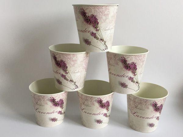 10PCS Free shipping Round Metal Flower Pot Planter Iron flower potes wedding decorative flower pots bonsai pot