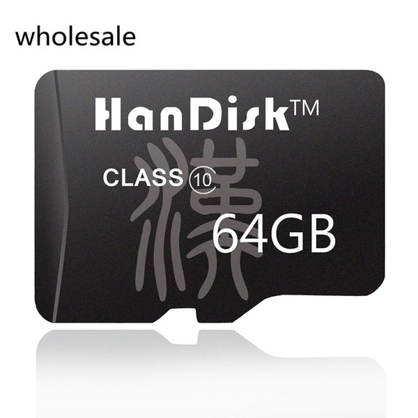 HanDisk 64GB Black Micro SD Card wholesale SDXC CE FCC certification Quality 64 GB Memory Card TF Card