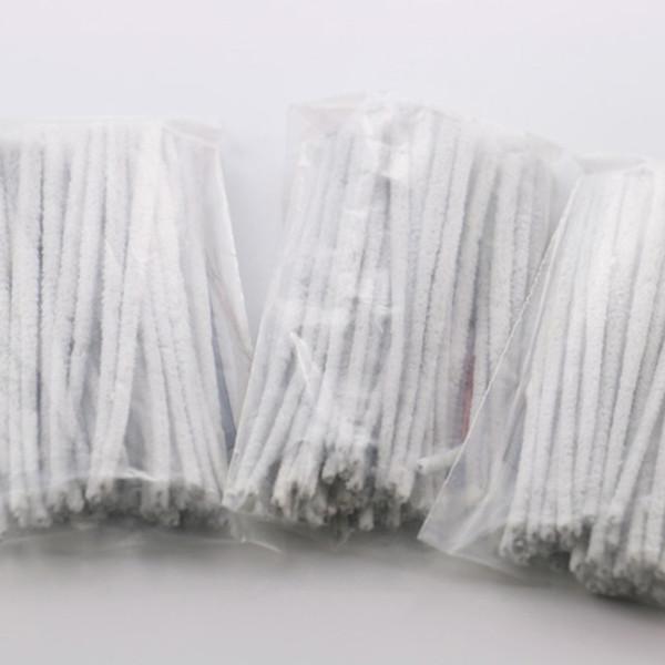 Limpador de Tubo de vidro Escova Fácil de Usar Ferramenta de Limpeza Da Tubulação Acessório 50 pçs / saco algodão limpo fácil de limpar frete grátis