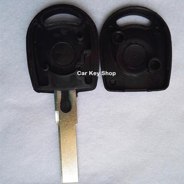 Em branco substituição transponder chave shel case Para VW B5 Passat Bora Golf Chave Shell