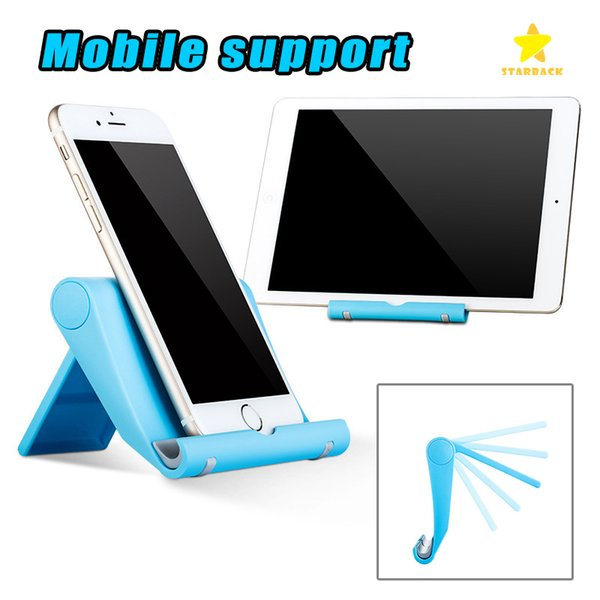 Universal Mobile Phone Stand 270 Degree Rotating ABS Desk Phone Holder for ipad Cellphone Tablet with Retail Package