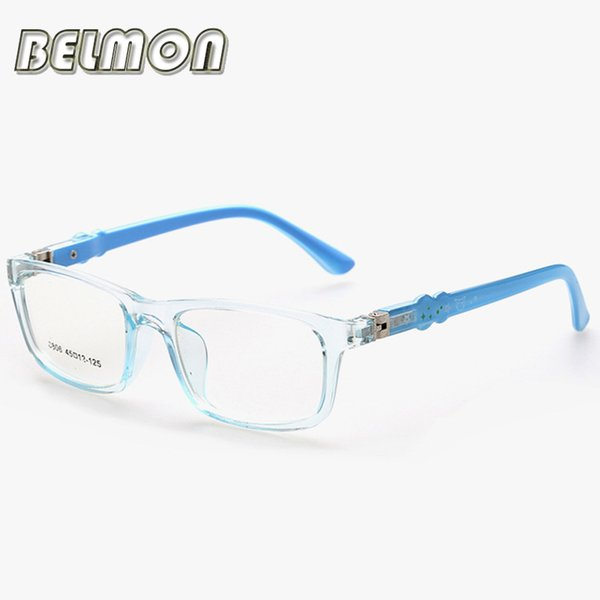 Wholesale- Fashion Student Spectacle Frame Children Myopia Eyeglasses Optical Kids TR90 Eye Glasses Frame For Infant Baby Boys&Girls RS182
