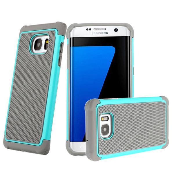 Custodia Amor per Samsung Galaxy S7 Custodia S7edge S6 s6edge S5 Note5 TPU + Custodia anti-shock ibrida in gel siliconico per il calcio modello PC
