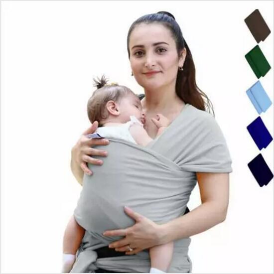 Baby Wrap Carrier Infant Breastfeed Gear Sling Per bambini Al seno Hipseat Newborn Canguru Backack Passeggini elastici per bambini Gallus Hot H554