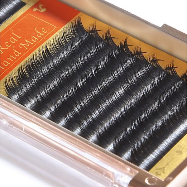 Real Mink eyelash extensions 8-12mm full handmade individual eyelashes B/C high quality makeup beauty tool for salon