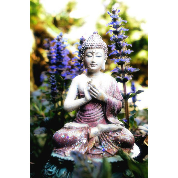 Little Buddha Buddha 100% Full Drill DIY Diamond Painting Embroidery 5D Cross Stitch Crystal Home Bedroom Wall Decoration Decor Craft Gift