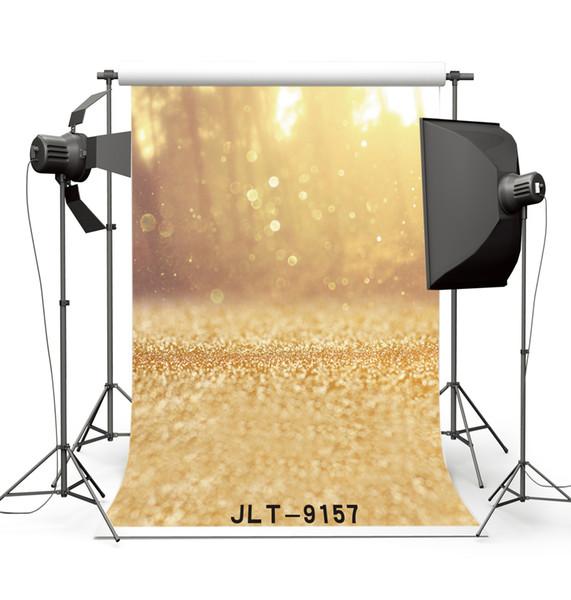 bokeh golden spots photography backdrops vinyl cloth backgrounds photocall for wedding children baby newborn for photo studio props