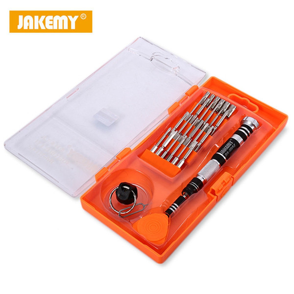 JAKEMY JM-8142 29 in1 Multifunctional Precision Screwdriver Kit For Laptop Phone Repair Kit Disassembled Repair Tool Kit via DHL