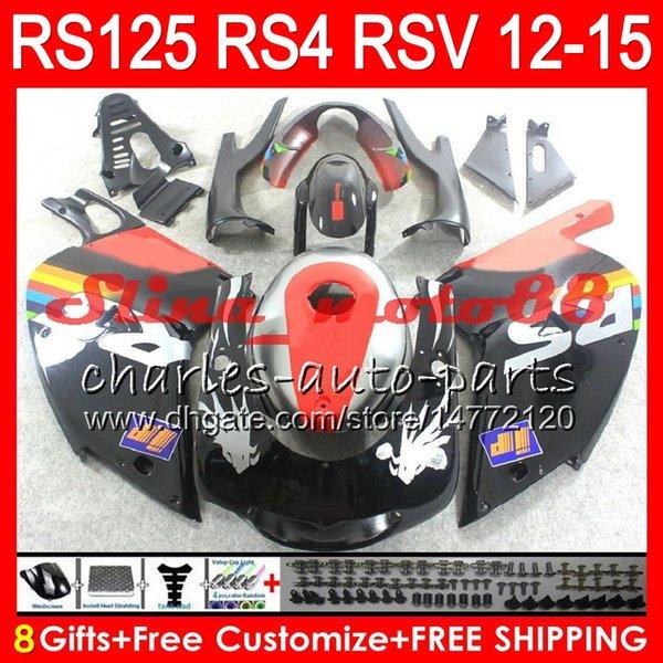 Инъекция блеска Repsol для Априлия РС4 125 RS125R РС 2012 2013 2014 2015 РС-125 72NO3 RSV125 12-15 RS125RR РСВ-125 RS125 12 13 14 15 обтекатель