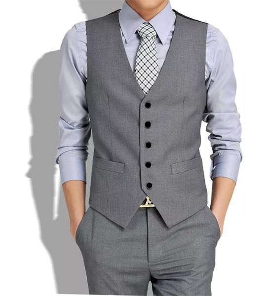 All'ingrosso-Nuovo stile britannico moda uomo gilet Joker tendenza alta qualità gilet per il tempo libero gilet