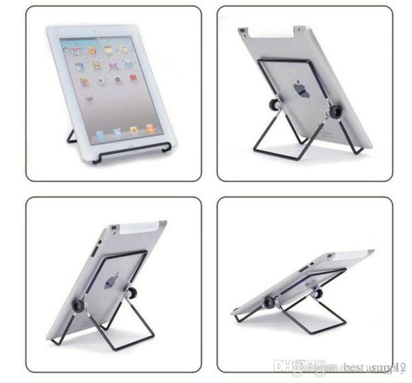 best Iron Metal Adjustable Folding Holder Stand For A13 Q88 Android tablet PC smart phone Hotsale free shipping