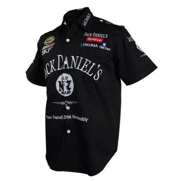 best selling Brand racing clothes short sleeve F1 racing shirt