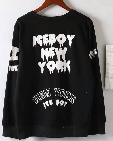 Saldi Famous Spring Hiphop HBA BOY EAGLE Felpe con cappuccio da uomo in cotone New york Tuta streetwear Ice Boardskating Rock London felpe da uomo
