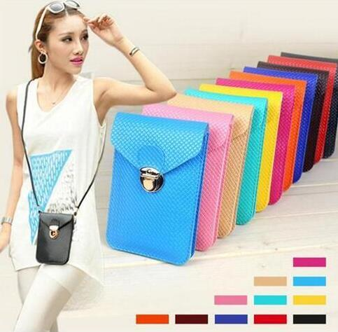 2017 new mini bags hot Women handbag multi-layer mini cell phone bag purse women messenger bags shoulder bag purse cheap wholesale mix color