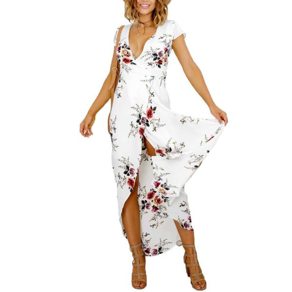 Summer Dress Women 2017Boho Plus Size Tunic Bandage Maxi Beach Dresses Summer Sundress Robe Femme Vestido De Festa