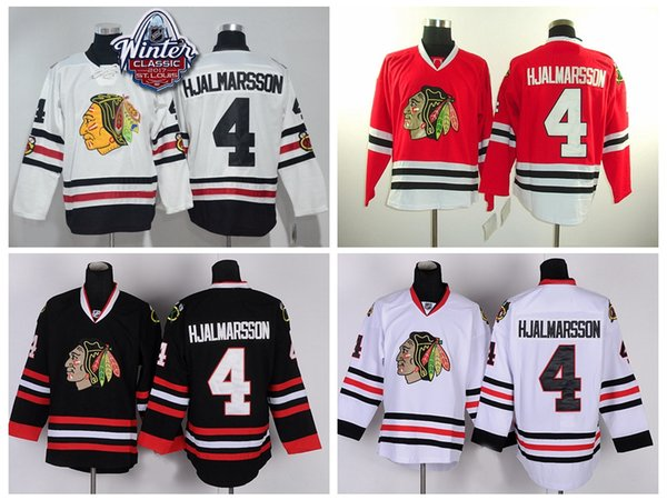 wholesale dealer 2ce0d 1efb9 2019 2017 Winter Classic Chicago Blackhawks Jerseys #4 Nikals Hjalmarsson  Jersey Home Red Black Cheap Men Nikals Hjalmarsson Hockey Jersey S XXXL  From ...
