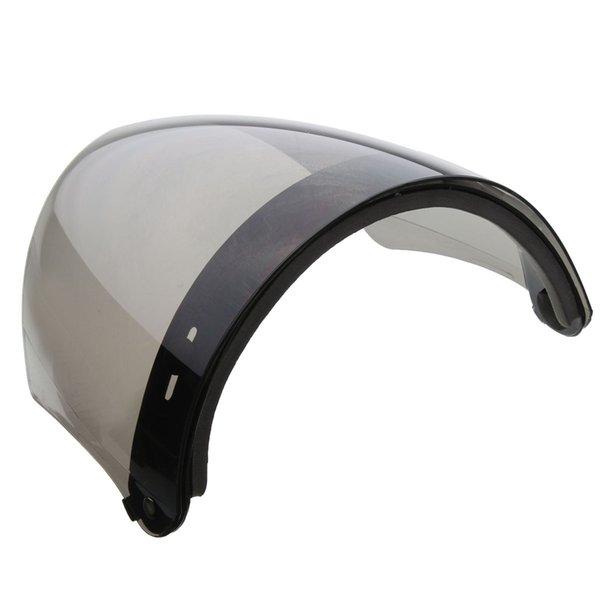 Wholesale- Retro Helmet Shield Lens Capacete Motorcycle Open Face Helmet Vintage Flight Helmet For 3-snap Visor