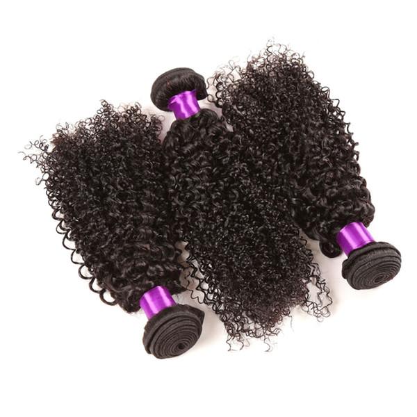 3pcs /Lot 8-28inch 8A Brazilian Curly Virgin Hair Human Hair Weave Bundles Best Unprocessed Virgin Brazilian Kinky Curly Hair Extensions