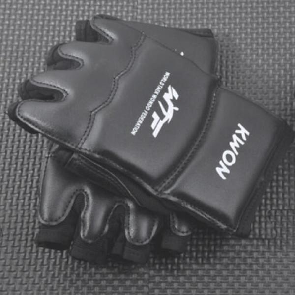 Wholesale Half Fingers Kids Adults Sandbag Punch Training Boxing Gloves Sanda Karate Muay Thai Taekwondo Protector Free Shipping