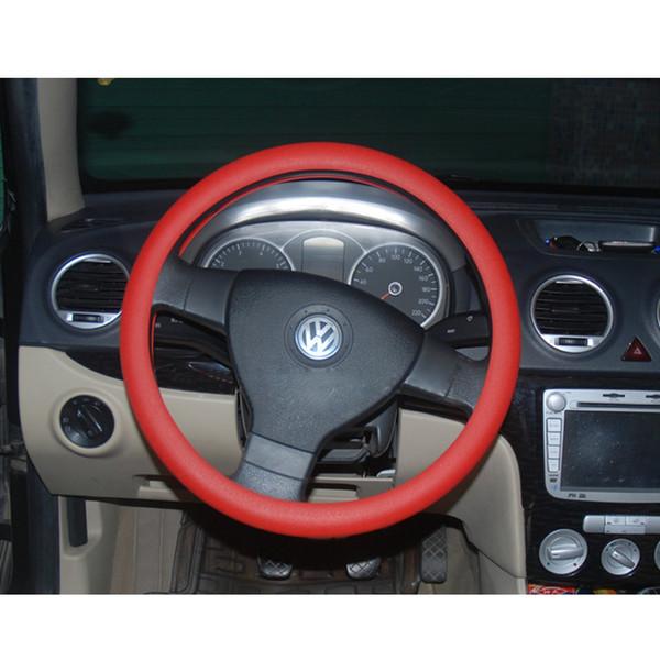 Coperchio del volante del silicone morbido compatibile con lo skidproof 2PCS per Mercedes Audi Nissan Peugeot Mazda CIA_100